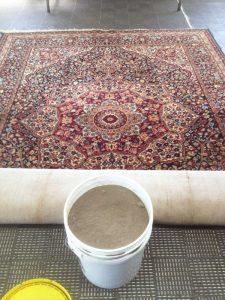 dusty rug